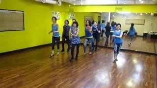 getlinkyoutube.com-Can't Stop The Feeling EZ (by Kerry Maus) - Line Dance