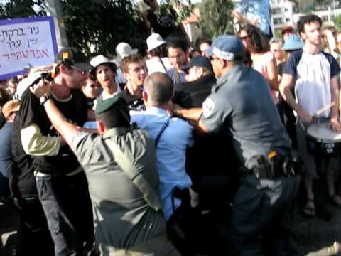 Israeli Police Brutally Attack Nonviolent Protesters In Sheikh Jarrah