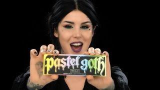 getlinkyoutube.com-Kat Von D Makeup - Pastel Goth Palette
