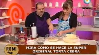 getlinkyoutube.com-Esponjosa torta cebra