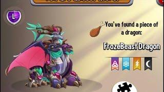 getlinkyoutube.com-Dragon City - FrozeBeast Dragon [Blizzard Island - Walkthought Part 2]