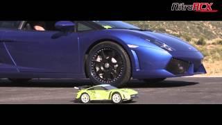 getlinkyoutube.com-R/C Car vs 550hp Lamborghini Gallardo LP 550-2