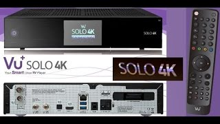 getlinkyoutube.com-vu+ Solo 4k, UltraHD műholdvevő kicsomagolása (UHD satellite receiver unboxing)
