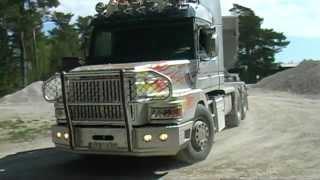 Scania V8 Sound raka rör 2012.mpg