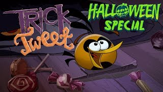 """Angry Birds """"Trick or Tweet"""" - wishing you a Happy Halloween!"""