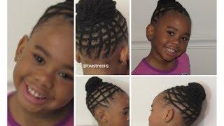getlinkyoutube.com-Natural Braid Hairstyle for Kids