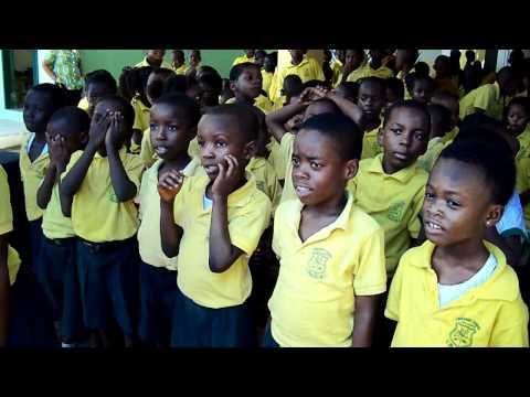School Activities at Emmanuel School, Accra, Ghana - Quiz Show (Part 1)