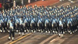 getlinkyoutube.com-Indian Air Force marches ahead: Republic Day 2016