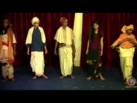 ISKCON Mayapur youth present a drama about Jagai & Madhai in Navadwip, India.