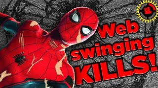 Film Theory: Spiderman Is DEAD! Web Swinging's Tragic Truth (Spider Man: Homecoming)