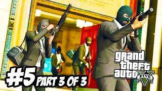 getlinkyoutube.com-GTA 5 Heists #5 - THE BIG BANK JOB! (Part 3 of 3) (GTA 5 Funny Moments)