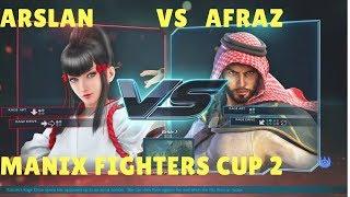 Tekken 7 FR Arslan Ash(Kazumi) vs Afraz(Shaheen) ManiaX Fighters cup S2