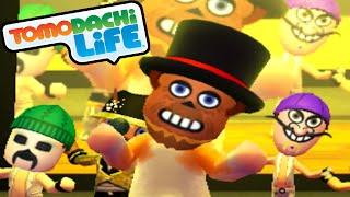 Tomodachi Life 3DS Freddy's Song, Terminator's Birthday Party Gameplay Walkthrough PART 37 Nintendo