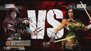 getlinkyoutube.com-Killer Instinct Xbox One Sadira vs Orchid Kyle Difficulty Ultra Combo