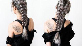 getlinkyoutube.com-Warrior Braids - Hair Tutorial
