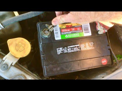 Subaru Impreza Car Battery Replacement