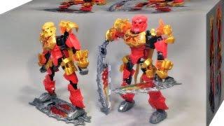 zimo 바이오니클 불의 마스터 타후 짝퉁 레고 70787 조립 리뷰 LEGO knockoff Bionicle Tahu Master of Fire