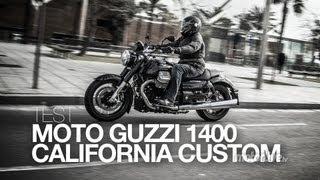 getlinkyoutube.com-TEST | MOTO GUZZI California 1400 Custom, Muscle bike !