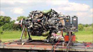 getlinkyoutube.com-Curtiss-Wright R-3350 32-WA, 18 Cylinder Radial Engine (Sternmotor), second start