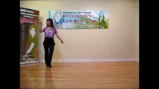 getlinkyoutube.com-Beautiful In My Eyes - Line Dance (Danced & walk thru)