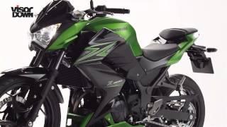 getlinkyoutube.com-Kawasaki Z300 review | Visordown Road Test