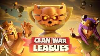Clash of Clans: CLAN WAR LEAGUES are HERE! Sign Up your Clan!