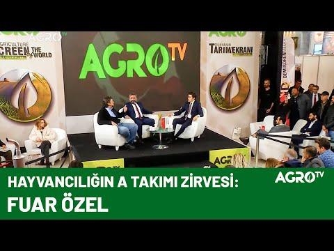 Sencer Solakoğlu - Eşref Şekerli İzmir Fuarı Buluşması / AGRO TV