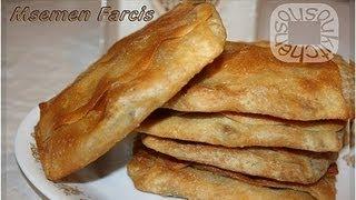 Msemen farcis au Poulet/مسمن رمضان Stuffed Msemen with Chicken
