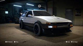 getlinkyoutube.com-Need For Speed 2015 - Toyota Sprinter GT Apex 1986 - Customize Car | Tuning (XboxONE HD) [1080p]