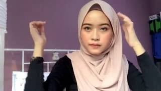 getlinkyoutube.com-Everyday hijab tutorial💗