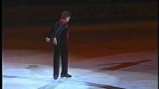 getlinkyoutube.com-Rudy Galindo (USA) - 1996 World Figure Skating Championships, Exhibition Performances