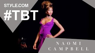 getlinkyoutube.com-Naomi Campbell: The Super-est of Supermodels  - #TBT with Tim Blanks - Style.com