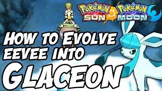 getlinkyoutube.com-How to Evolve Eevee into Glaceon in Pokémon Sun and Moon