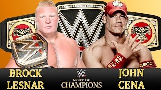 getlinkyoutube.com-FULL MATCH HD ►NIGHT OF CHAMPIONS |John Cena vs Brock Lesnar| WWE WORLD HEAVYWEIGHT CHAMPIONSHIP