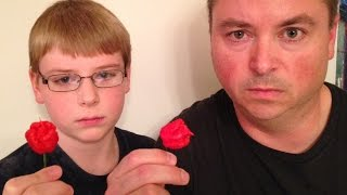 getlinkyoutube.com-12-yr-old eats whole Carolina Reaper (Worlds Hottest Pepper) : Crude Brothers