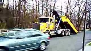 getlinkyoutube.com-Roll Off Truck