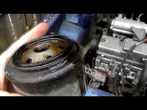 Выдавило прокладку масляного фильтра ВАЗ 2110