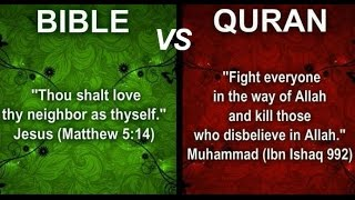 All Muslims REJECT Jesus Christ the Son of GOD YAHWEH of Israel - Bible vs Quran