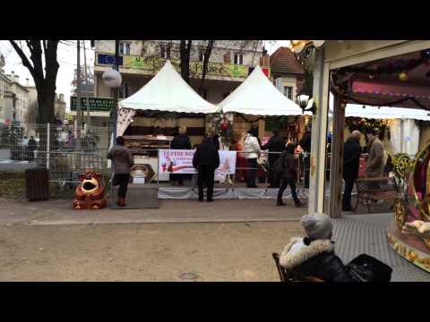 Marché de Noël à Aulnay-sous-Bois du 5 au 7 décembre 2014