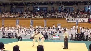 getlinkyoutube.com-2015 全国高校総体 柔道66k級 阿部一二三 準決勝