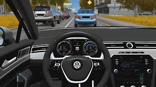 City Car Driving - Volkswagen Passat Variant   Fast Driving