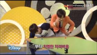 getlinkyoutube.com-[ENG SUB] Mickey Mouse Club - Eunhyuk and Leeteuk's Game