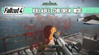 getlinkyoutube.com-Fallout 4 - Killable Kids Mod
