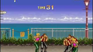 Karate Blazers Game Over Screen