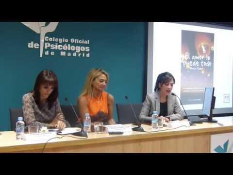 Presentación del libro El amor lo puede todo, de Blanca Tejero en el Colegio de Psicólogos de Madrid
