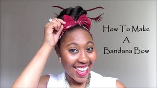 getlinkyoutube.com-How To Make A Bandana Bow