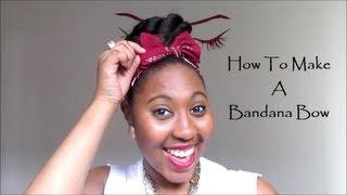 getlinkyoutube.com-How To Make A Bandana Bow