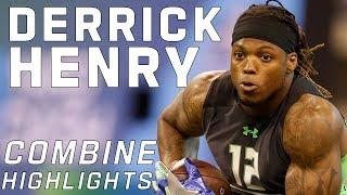 getlinkyoutube.com-Derrick Henry (Alabama, RB)   2016 NFL Combine Highlights