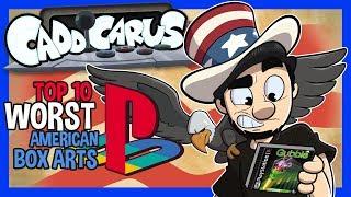 Top 10 WORST US PlayStation Box Arts! - Caddicarus