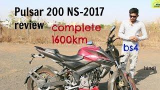 bajaj pulsar 200 NS -2017 review ||complete 1600km||